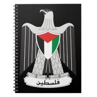 escudo de armas de Palestina Cuadernos