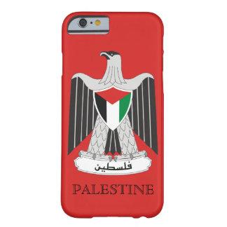 escudo de armas de Palestina Funda De iPhone 6 Barely There