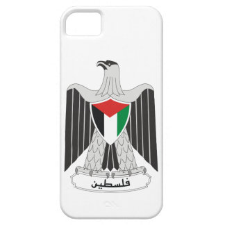 escudo de armas de Palestina Funda Para iPhone 5 Barely There