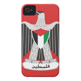 escudo de armas de Palestina iPhone 4 Carcasas