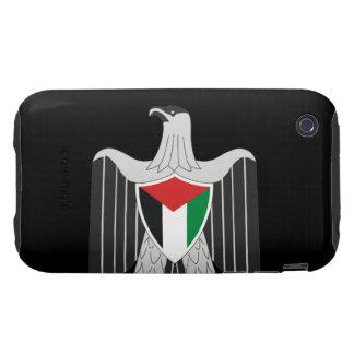 escudo de armas de Palestina iPhone 3 Tough Carcasas