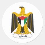 Escudo de armas de Palestina Pegatina