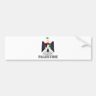 Escudo de armas de Palestina Pegatina Para Auto