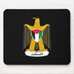 Escudo de armas de Palestina Tapetes De Ratones