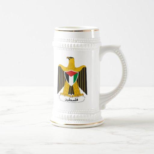 Escudo de armas de Palestina Taza De Café