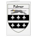 Escudo de armas de Palmer/escudo de la familia Tarjetas