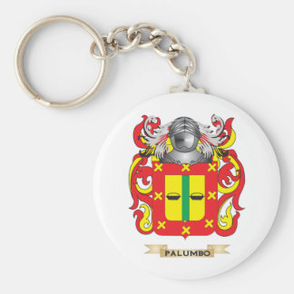 Escudo de armas de Palumbo (escudo de la familia) Llavero Redondo Tipo Pin