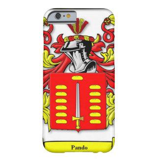 Escudo de armas de Pando Funda De iPhone 6 Barely There