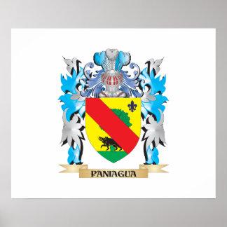 Escudo de armas de Paniagua - escudo de la familia Posters