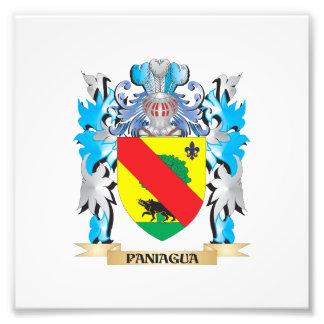 Escudo de armas de Paniagua - escudo de la familia Fotografia