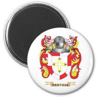 Escudo de armas de Pantoja (escudo de la familia) Imán Redondo 5 Cm