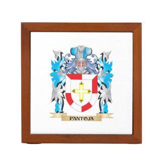 Escudo de armas de Pantoja - escudo de la familia Organizador De Escritorio