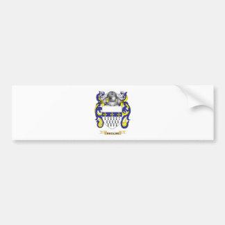 Escudo de armas de Paolini (escudo de la familia) Etiqueta De Parachoque