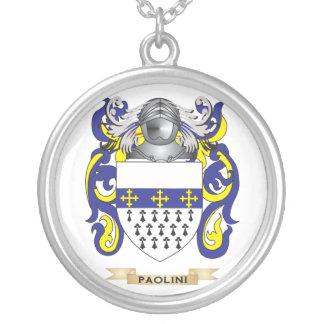 Escudo de armas de Paolini (escudo de la familia) Joyerias