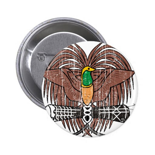 Escudo de armas de Papúa Nueva Guinea Pin