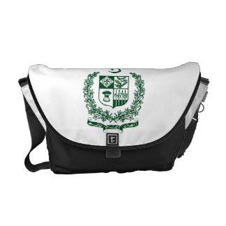 Escudo de armas de Paquistán Bolsa Messenger