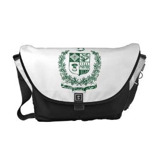 Escudo de armas de Paquistán Bolsa De Mensajeria