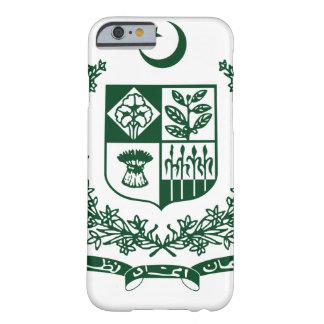 Escudo de armas de Paquistán Funda Para iPhone 6 Barely There