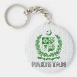 Escudo de armas de Paquistán Llaveros