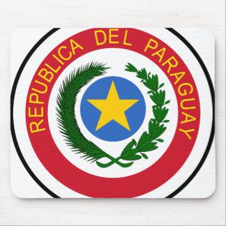 Escudo de armas de Paraguay Alfombrilla De Ratón