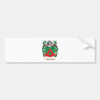 Escudo de armas de Parkhurst (escudo de la familia Pegatina Para Auto