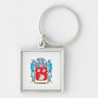 Escudo de armas de Parrish - escudo de la familia Llaveros Personalizados