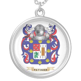 Escudo de armas de Patino (escudo de la familia) Collar Personalizado