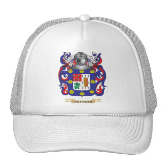Escudo de armas de Patino (escudo de la familia) Gorros Bordados