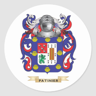 Escudo de armas de Patino (escudo de la familia) Etiquetas
