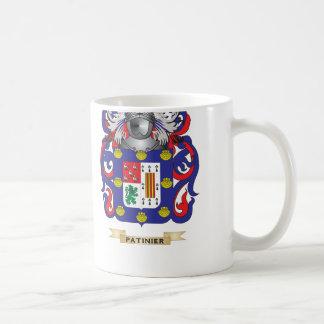 Escudo de armas de Patino (escudo de la familia) Taza De Café