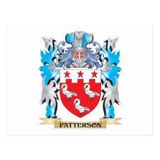 Escudo de armas de Patterson - escudo de la Tarjetas Postales
