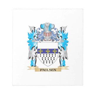 Escudo de armas de Paulsen - escudo de la familia Blocs De Notas