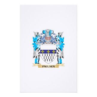 Escudo de armas de Paulsen - escudo de la familia Papelería