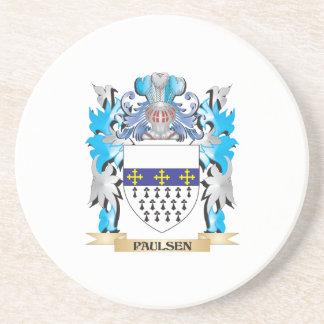 Escudo de armas de Paulsen - escudo de la familia Posavasos Diseño