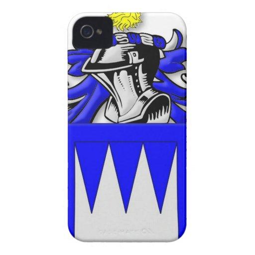 Escudo de armas de Pearsall iPhone 4 Case-Mate Protectores