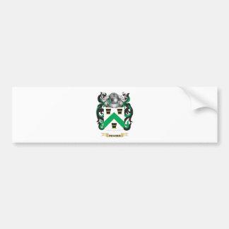 Escudo de armas de Pember (escudo de la familia) Pegatina De Parachoque
