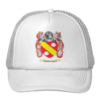 Escudo de armas de Perazzi (escudo de la familia) Gorro