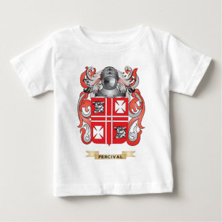 Escudo de armas de Percival (escudo de la familia) Playera