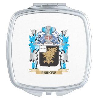Escudo de armas de Perkins - escudo de la familia Espejo De Maquillaje