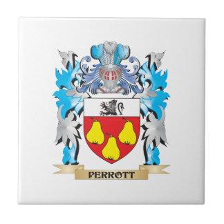 Escudo de armas de Perrott - escudo de la familia Tejas Cerámicas