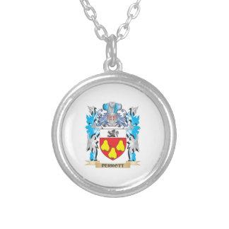 Escudo de armas de Perrott - escudo de la familia Pendientes Personalizados