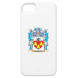 Escudo de armas de Perrott - escudo de la familia iPhone 5 Case-Mate Cárcasa
