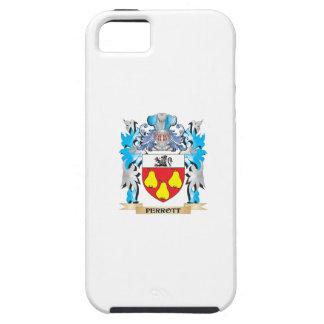 Escudo de armas de Perrott - escudo de la familia iPhone 5 Cárcasa
