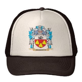 Escudo de armas de Perrott - escudo de la familia Gorros Bordados