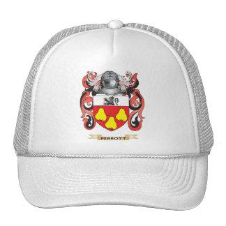 Escudo de armas de Perrott (escudo de la familia) Gorros Bordados