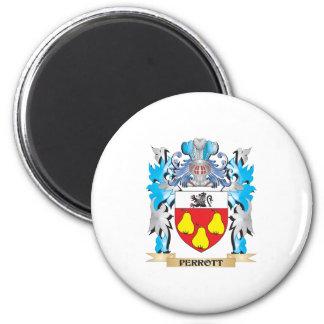 Escudo de armas de Perrott - escudo de la familia Imán