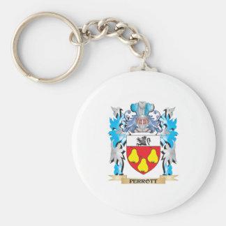 Escudo de armas de Perrott - escudo de la familia Llaveros