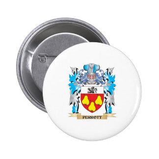 Escudo de armas de Perrott - escudo de la familia Pins