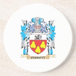 Escudo de armas de Perrott - escudo de la familia Posavasos Diseño