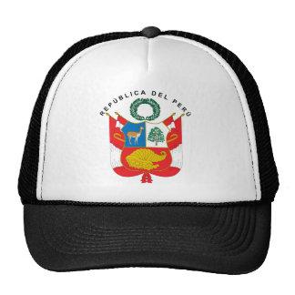 Escudo de armas de Perú Gorro De Camionero